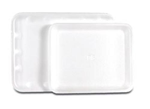 "DT-01A Certol ProTray Flat Hygiene Tray, White, 8 3/8"" x 10"", 125/cs (30 cs/plt) Sold as cs"