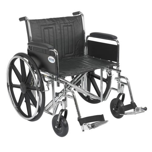 Drive Medical Std22ecdfa Sf Sentra Ec Heavy Duty Wheelchair44