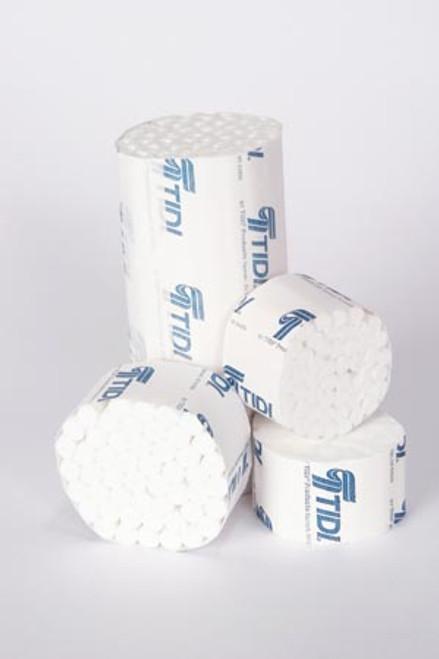 "969122 TIDI Products, LLC Cotton Roll, Medium, Non-Sterile, 3/8"" x 6"", 50/bundle, 10 bundle/cs Sold as cs"