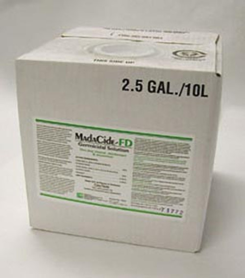 7022 MADA Medical Products, Inc. MadaCide-FD Disinfectant/ Cleaner, 2.5 Gallon Bottle Sold as ea