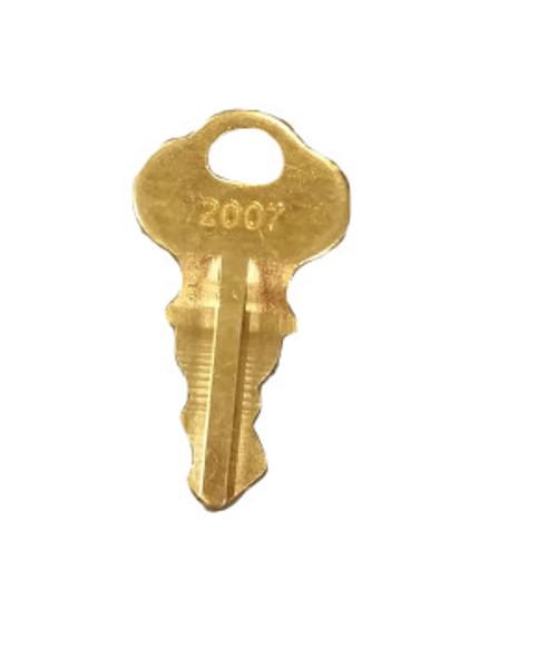165-0195-004 Cardiac Science Cabinet spare Key (for 180-XXXX-XX series)