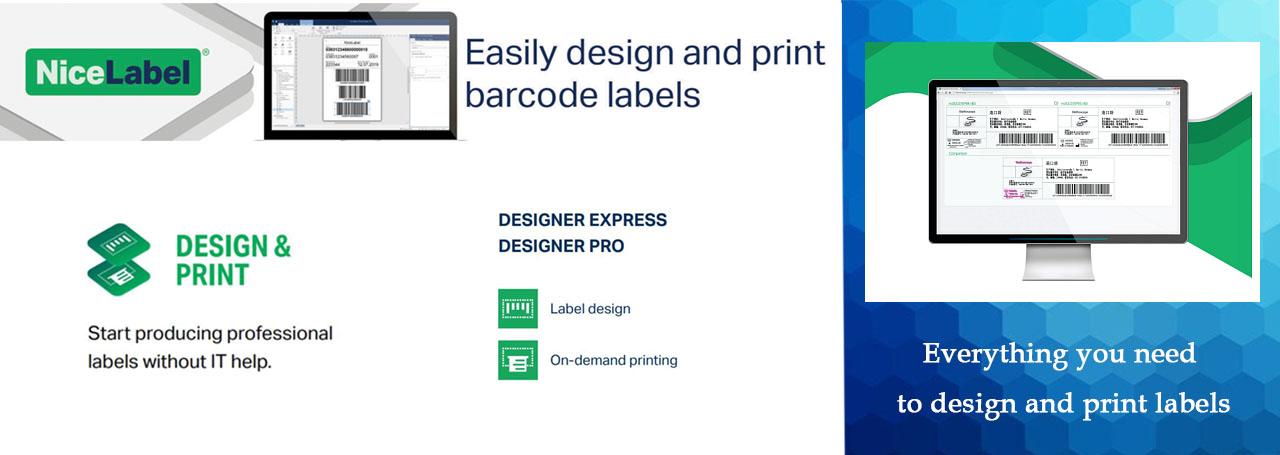 NiceLabel Software Design and Print