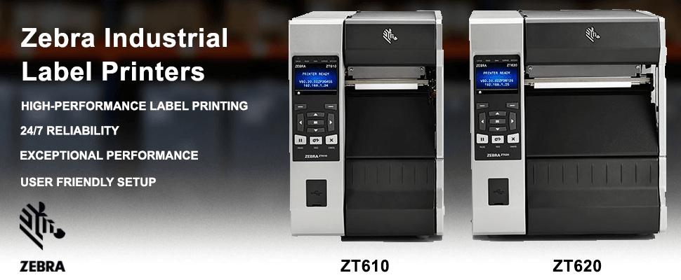 Introducing Zebra's new ZT610 and ZT620 Industrial Label Printers