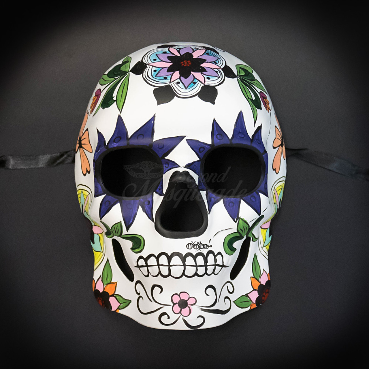 Day of the Dead Masks - Dia de los Muertos Masquerade Mask M38242 - BeyondMasquerade.com