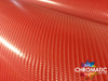 Gloss Red Carbon Fibre Vinyl Wrap with ADT