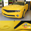 Gloss Yellow Carbon Fibre Vinyl Wrap with ADT