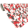 Red, Black and White Camo Vinyl Wrap with ADT
