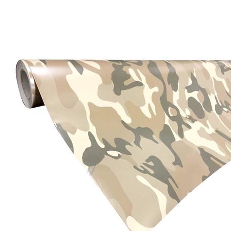 Desert Camouflage Vinyl Wrap with ADT