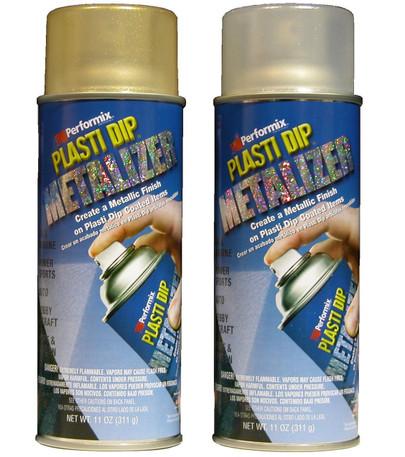 Plasti Dip Aerosol -  Metalizers - 7 Colours