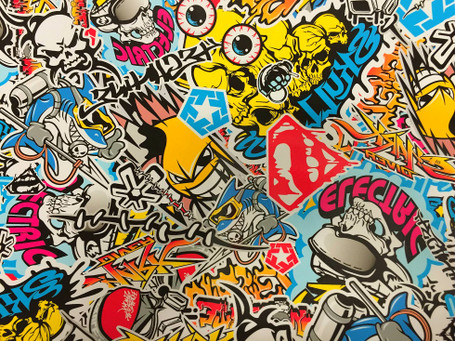 Electric Style Stickerbomb with ADT