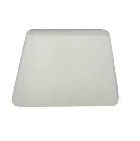 4'' White Hard Card