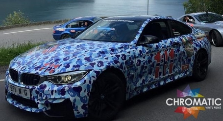 ... Blue Camo Vinyl Wrap With ADT ...