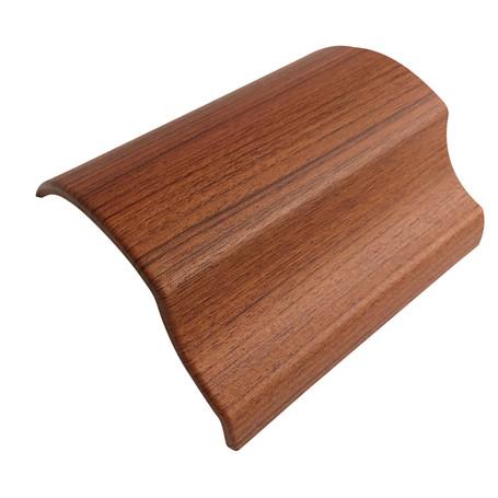 Cedar Wood Effect Vinyl Wrap