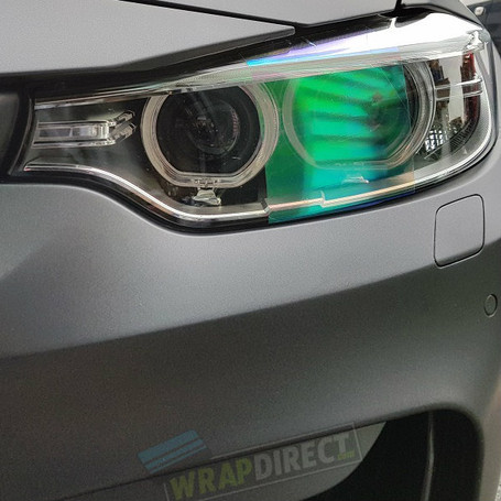 Clear Chameleon Headlight + Tail Light Tint Film