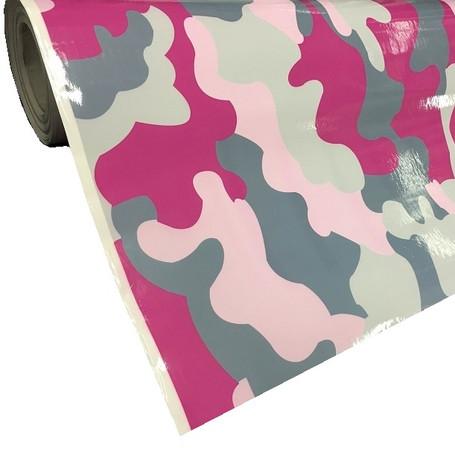 Pink Camo Vinyl Wrap with ADT