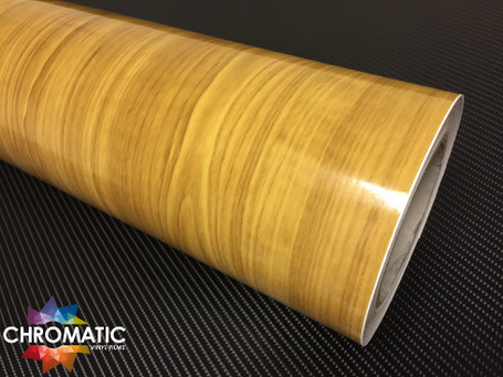 Gloss Pine Vinyl Wrap With Adt Wrap Direct