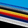 4mm Corrugated plastic sheets: 48 x 48 :10 Pack 100% Virgin Black