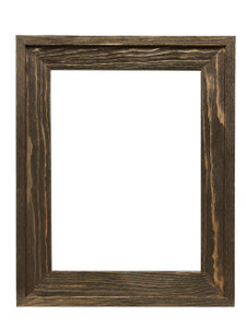 2 5 8 rustic barnwood distressed wood picture frame
