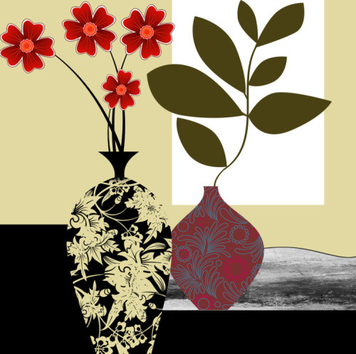 """Home Decor Giclee Canvas Print+3/4"""" Gallery Stretching: 100% Cotton Canvas  : 12X24-Part1"""