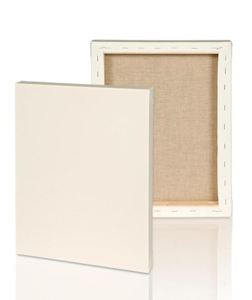 medium grain 2 1 2 stretched linen canvas 48x72 single piece