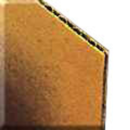 "Econo 1/8"" Corrugated Backing Board : 5 x 7"