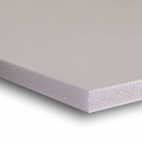 "Acid Free Buffered Foam Core 3/16"" Backing Board : 10 X 10"