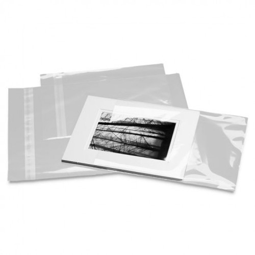Clear Show Bags :11 X 14 :100 Pack