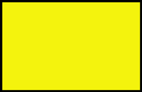 """Adhesive Vinyl Film for Cutting, Lettering – Signs, Graphics : 24"""" x 33' Yellow"""