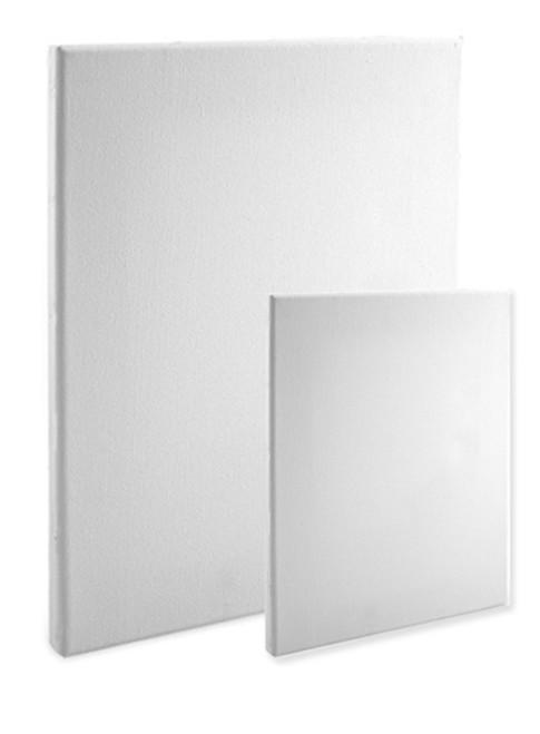 economy stretched canvas 16 x 20 box of 20 5 8 econo white. Black Bedroom Furniture Sets. Home Design Ideas