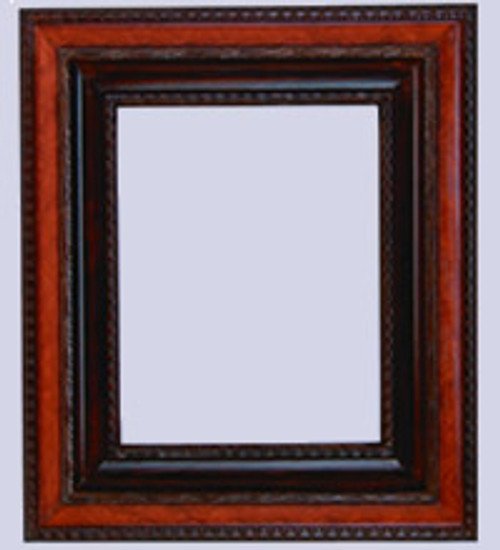 3 wide frame with wooden liner