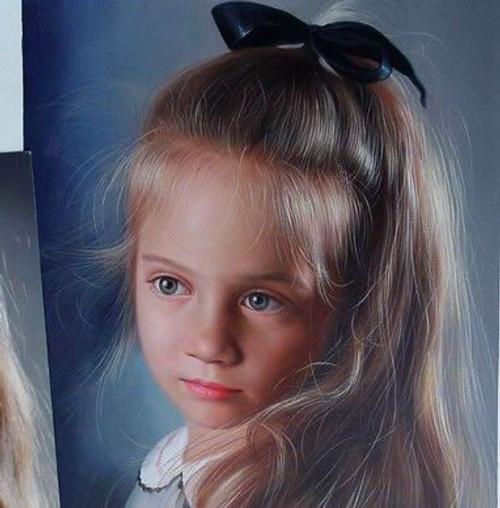 Custom Made Portraits - 3 Persons:30X40