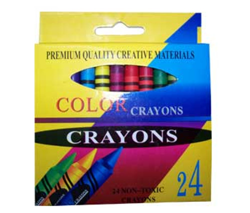 "Crayon - 3.5"" X 3/8"" ,24 pcs/Box"