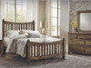 Maple Road Slat Bed, Queen or King