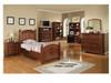 Cape Cod Chocolate Twin Bedroom set