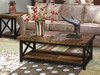 Carpenter Occasional Table collection by Flexsteel available at Vintage Oak Furniture in Sandy