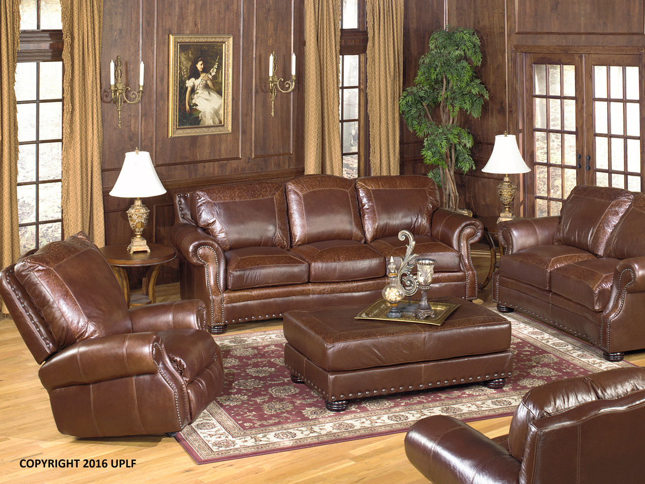 Superieur Extra Long Leather Sofa Collection. Made In Utah