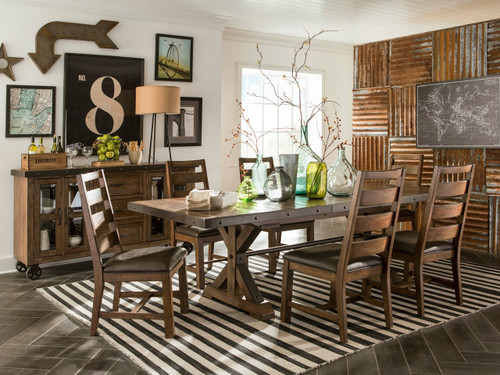 Taos Dining set- $1299 for table and 4-chairs Anniversary Sale special