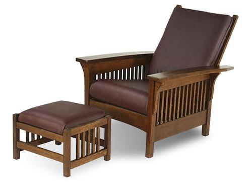 5400 Fireside Morris Chair and Ottoman