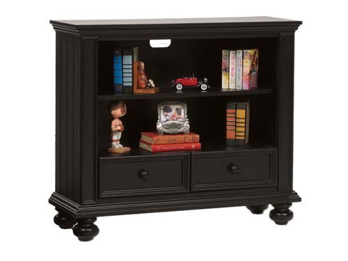 """Ebony 42"""" Bookcase/ Media Base"""