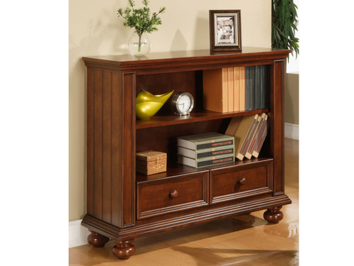 "Cape Cod Chocolate 42"" Bookcase/ Media Base"