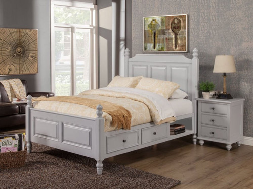 Hepburn Bed And Nightstand