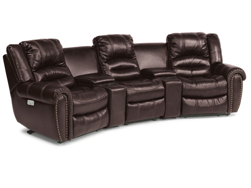 Crosstown Leather Glider/Recliner  -Additional 10% off Sale prices