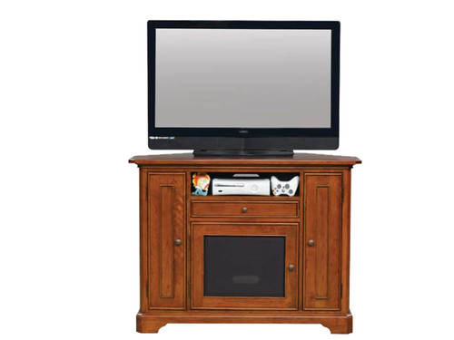 """Topaz Cinnamon 47"""" Corner TV Stand"""
