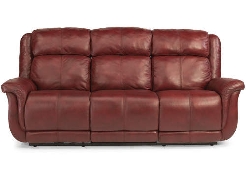 BROOKINGS ALL LEATHER RECLINING SOFA SET