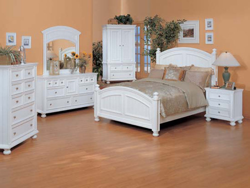 Cape Cod Queen Set white