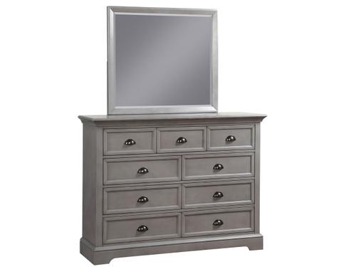 Tamarack Gray Dresser and Mirror