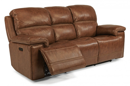 Fenwick Power reclining sofa with power headrest. Available in 2 colors.