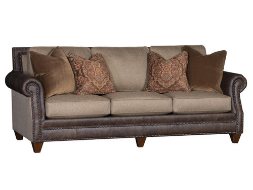 9000 Sofa in Fabric and Leather
