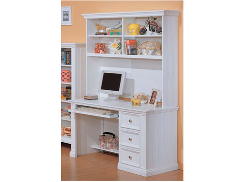 Cape Cod Eggshell white Youth computer desk