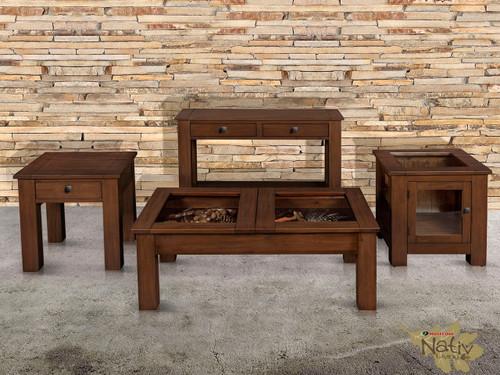 Mossy Oaks Dark Display Tables